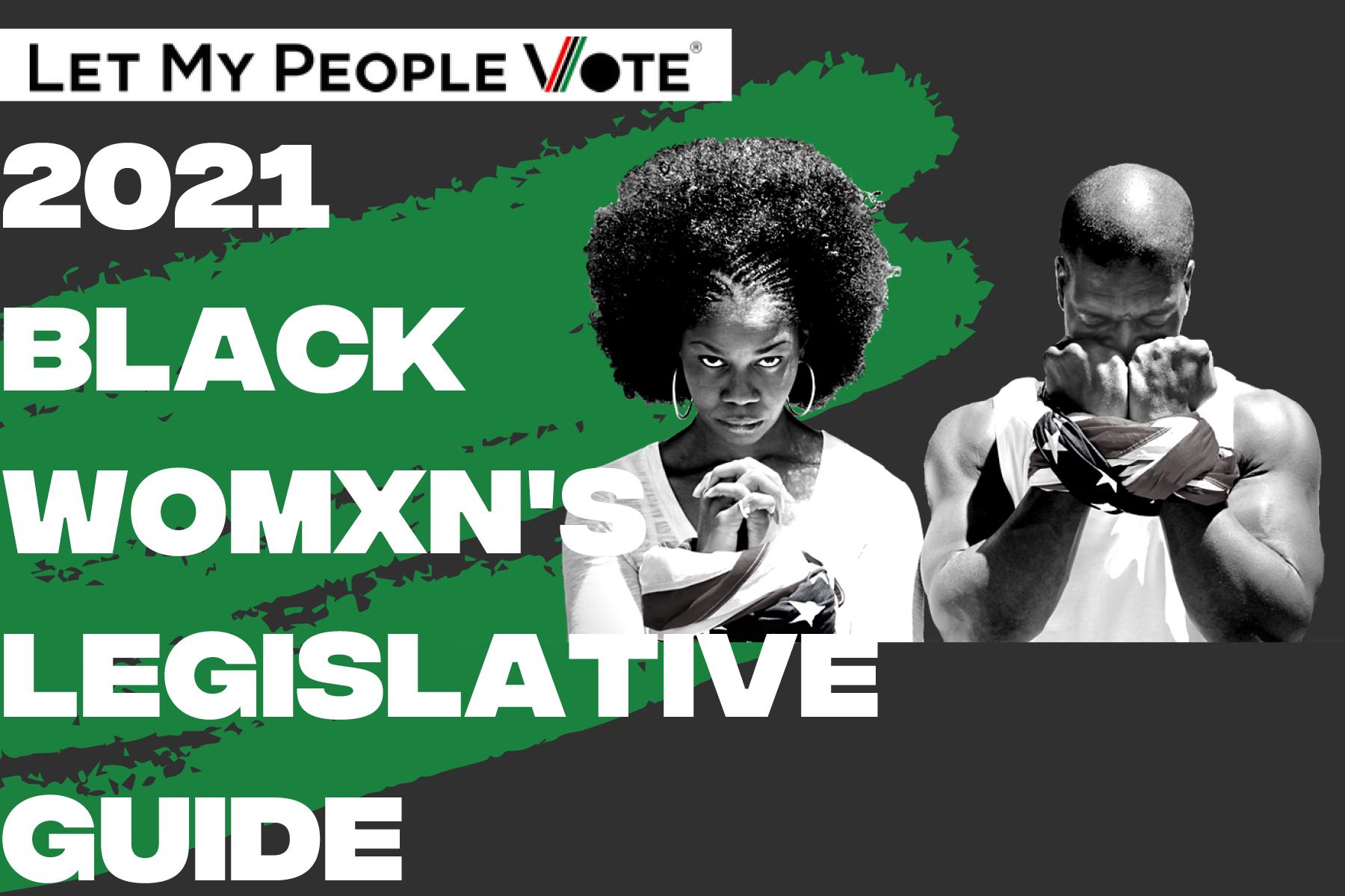 Soul 2 Soul Sisters 2021 Black Womxn's Legislative Guide